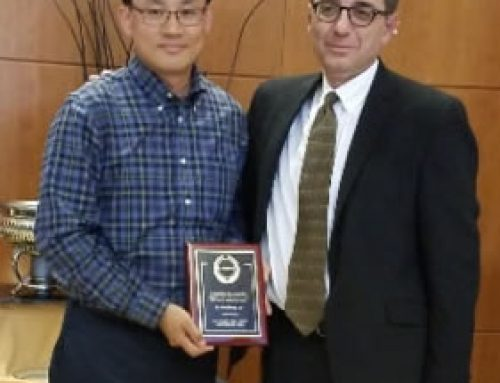 Dr. Woo Hyoung Lee received Dean's Advisory Board (DAB) Faculty Fellow Award