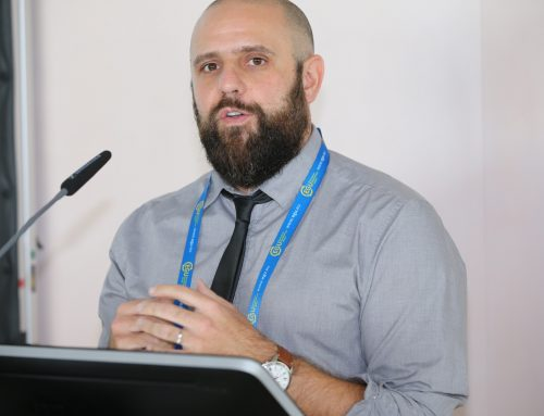 Dr. Wahl attended EGU 2018 to receive Outstanding Early Career Scientist Award