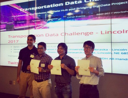 Our team won the first prize at Transportation Data Challenge