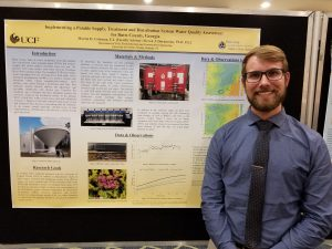 "Martin Coleman's poster ""Implementing a Potable Supply, Treatment and Distribution System Water Quality Assessment for Butts County, Georgia"" was selected as best poster."