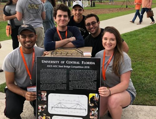 ASCE-UCF chapter won two awards
