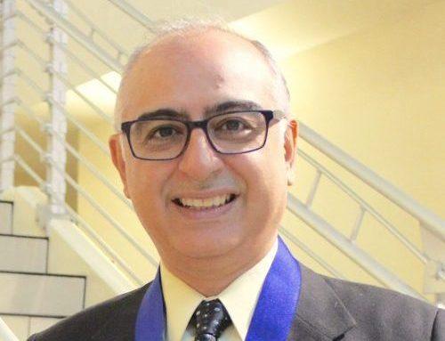 Prof. Catbas was awarded Aftab Mufti medal